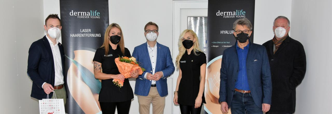 Dermalife-Beauty-Salon eröffnete in Mistelbach